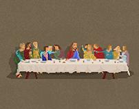 Pixel Art / The Last Supper