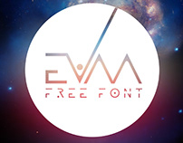 EVAA - FREE GALACTIC DISPLAY FONT
