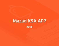 Mazad KSA APP - 2014