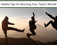 Helpful Tips for Boosting your Team's Morale