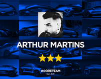2   Arthur Martins   #CORETEAM