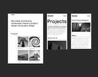 Gensler Website Redesign