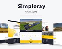 Simpleray - Statamic CMS