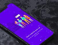 ValetPal - App Onboarding Screens