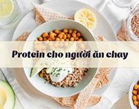 thuc pham chay giau protein
