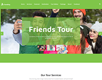 Travelling Agency Landing Page