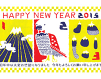 Works / New Year's card 2015