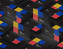 Free Brand Premium Business Card Mockup