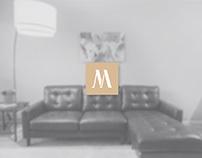Millennium Art / Brand Development & Free PSD Mockup
