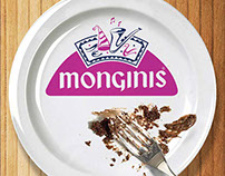 ANDROID APP - MONGINIS CHAIN OF CAKE SHOPS