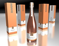Label Design Vancouver / Bench 1775 Brut Rose packaging