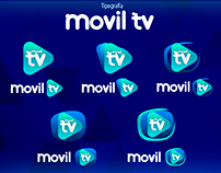 Movil tv propuesta logotipo
