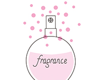 fragrance illustration/short video