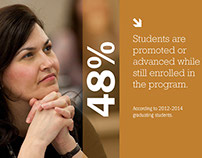 Tufts University Brochure Design