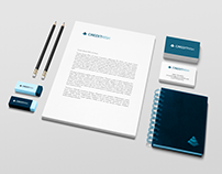 CREDITRISK Corporate logo design