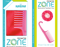 Packaging for Karina Hair Accessories