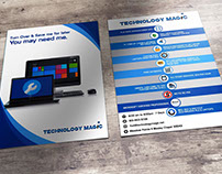 Flyer Tecnology magic