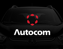 Autocom - Car dealership Logo