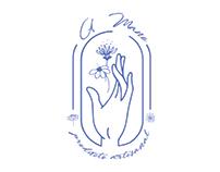 A Mano logo Design