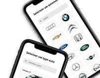 Ikea Car App UI – Data mining and Hacking