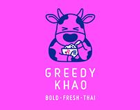 Greedy Khao Brand Identity