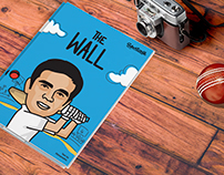 THE WALL - A Comic Book on Rahul Dravid