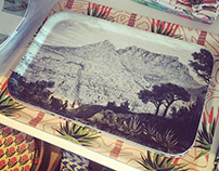 Cape Town & Elephants - surface pattern design