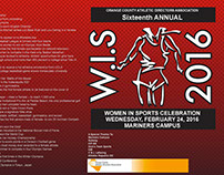 Women in Sports Brochure