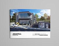 Industria Business Park - Brochure design