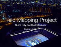 "Field 3D Mapping ""Gamba Osaka"" at Suita Soccer Stadium"