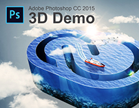 Adobe Photoshop CC 2015 - 3D Demo