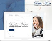 Стоматологическая клиника Bella Vista - UX/UI