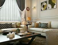 Reception & Master Bedroom Design interior Desgin