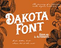 Dakota   Font Display