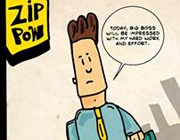Zip pow comics