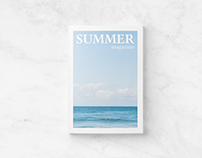 Summer - Free Magazine Template