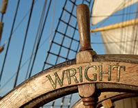 Boat Helm Typography