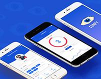– Comfy / Panic Attack App / UX UI Project