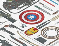 Iconic Movie Weapons