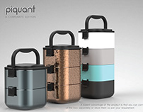 Piquant- A Corporate Lunch Box (Skin Design)