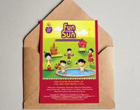 Planet Kids - Summer Camp Invitation