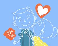 Identidade Visual Casamento May e Dudu