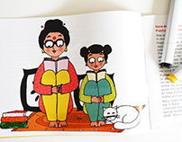Like Mother Like Daughter - picture book