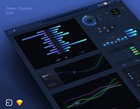 Charts / Controls UI Kit • Available on Creative Market