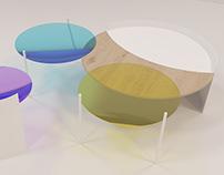 AQUARELLE table