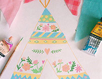 Детские интерьерные наклейки / Wall stickers kids