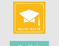 App Prototype - Major Maker