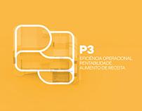 P3 •• logo architecturization