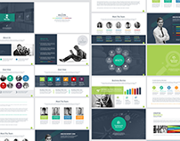 Infographic Presentational PowerPoint Template