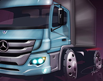 MD Facelift Project - New Atego 2012
